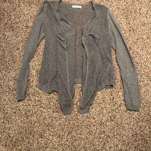 A&F knit cardigan - size m/l - nwot